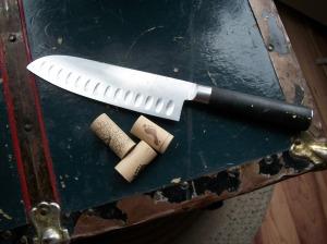 cut corks